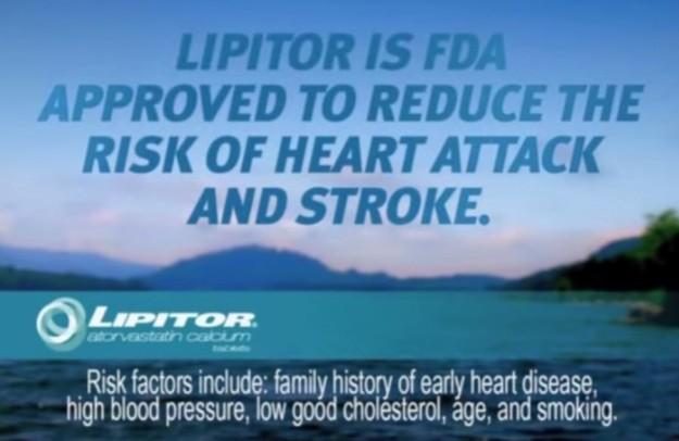 Lipitor reklam från 2010 (USA).